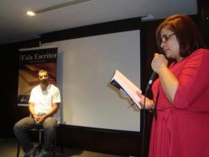 Marcos Torres no Projeto Fala Escritor